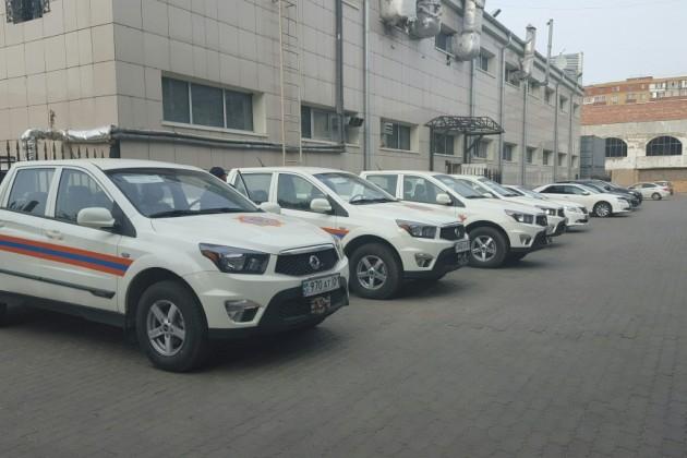 Автопарк Казавиаспаса пополнился новой техникой