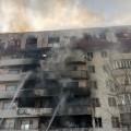 ВАлматы горели балконы жилого дома