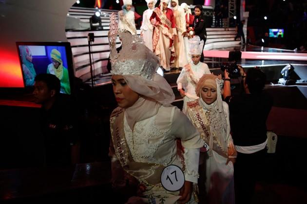 В Индонезии прошел конкурс «Мисс мусульманка»
