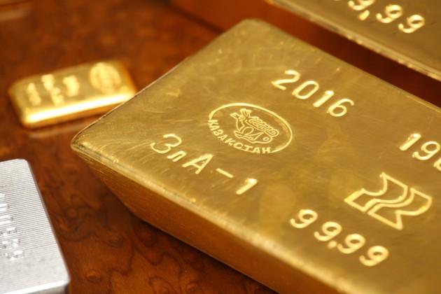 ВКазахстане произвели 74,6тонны золота