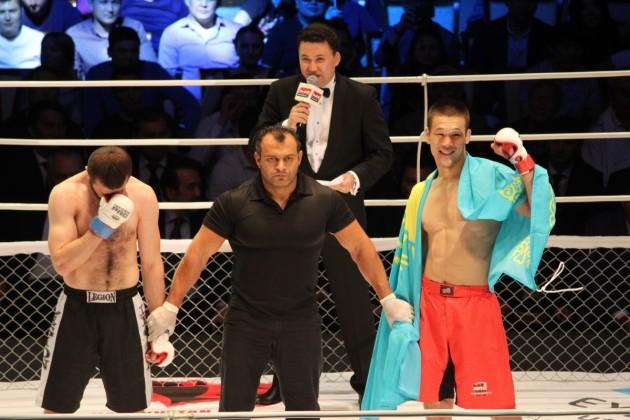 Шавкат Рахмонов одержал победу в мировом промоушне М-1 Global