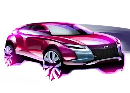 Фантазии на тему будущих Lada