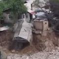 В Алматы из-за осадков обрушилась баня