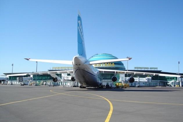 Аэропорт Астаны в течение недели не будет работать в ночное время