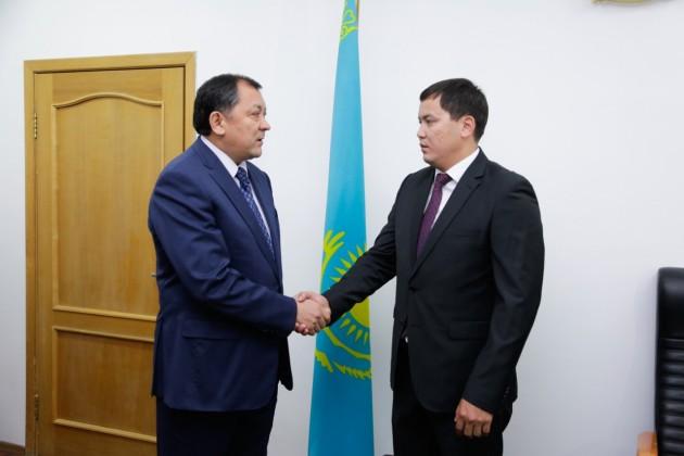 ВАтырауской области назначен глава управления физкультуры испорта