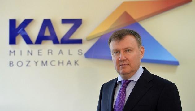 Главу KAZ Minerals Bozymchak освободили из-под стражи