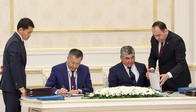 Аким ЮКО подписал меморандумы сглавами трех областей Узбекистана