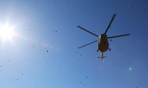 Пропавший вертолет обнаружен недалеко отАягоза