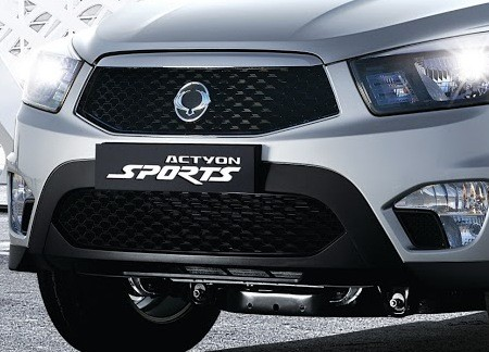 SsangYong обновил Actyon Sports
