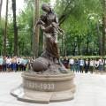 ВАлматы установили памятник жертвам голода 1931−1933годов