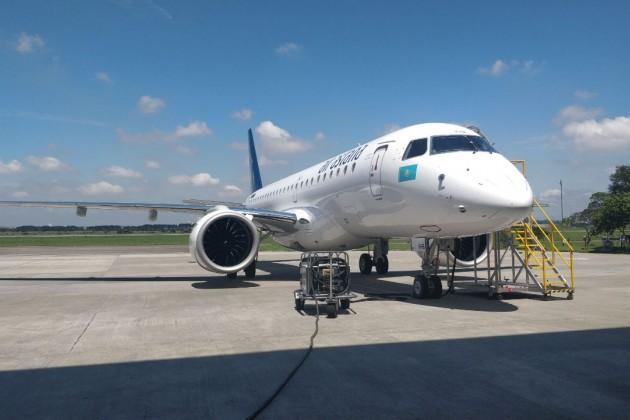 Эйр Астана получила второй самолет Embraer