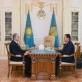 Глава государства принял премьер-министра