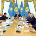 Президент провел совещание с министрами