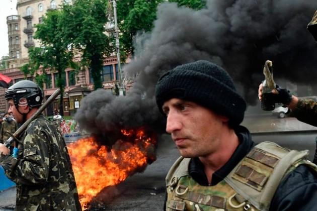 В Киеве задержали защитников Майдана