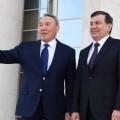 Нурсултан Назарбаев прибыл софициальным визитом вУзбекистан