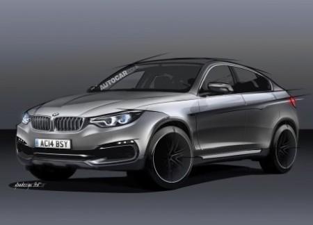 Следующий BMW X6 станет крупнее и агрессивнее