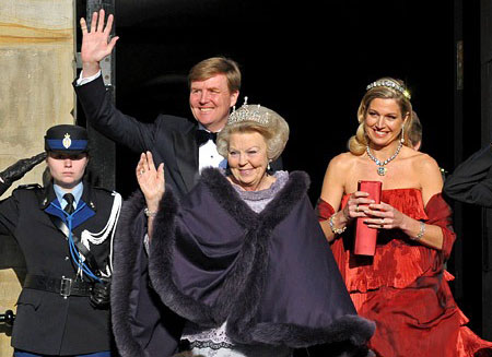 Виллем стал первым за 123 года королем Нидерландов