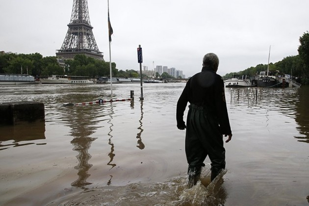 Ущерб от наводнений во Франции оценили в 600 млн евро