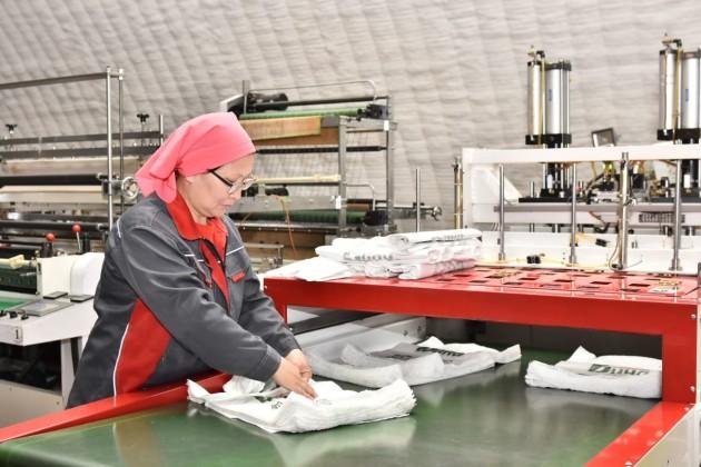 ВАктюбинской области запустили производство экопакетов