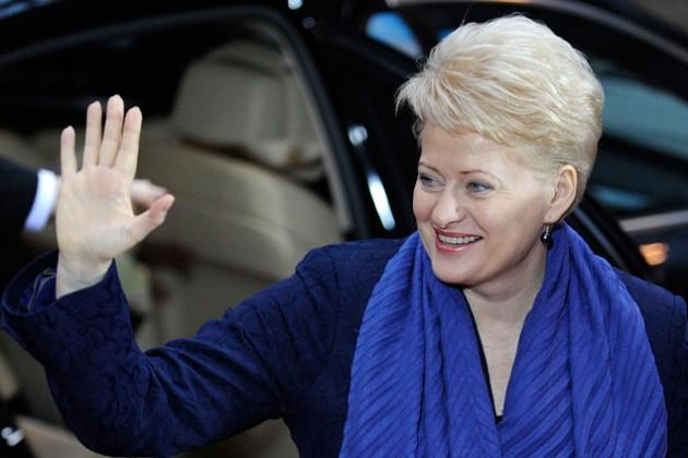 Даля Грибаускайте избрана на второй президентский срок