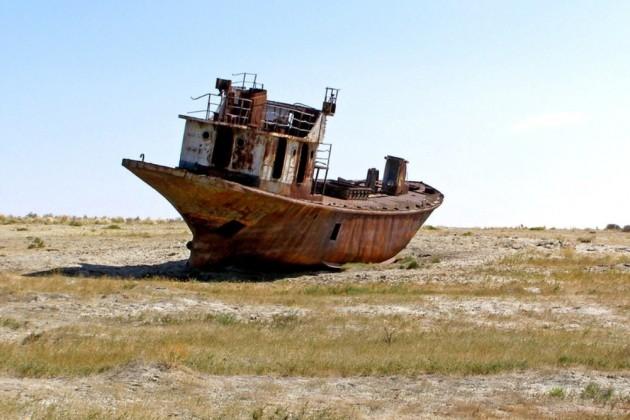 Google покажет, как высыхало Аральское море