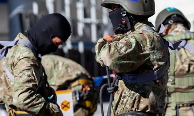 ВАлматы проходят антитеррористические учения