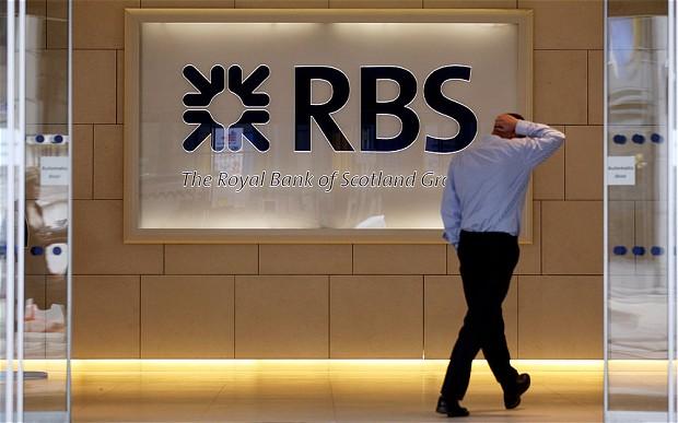 Чистый убыток британского RBS вырос втрое