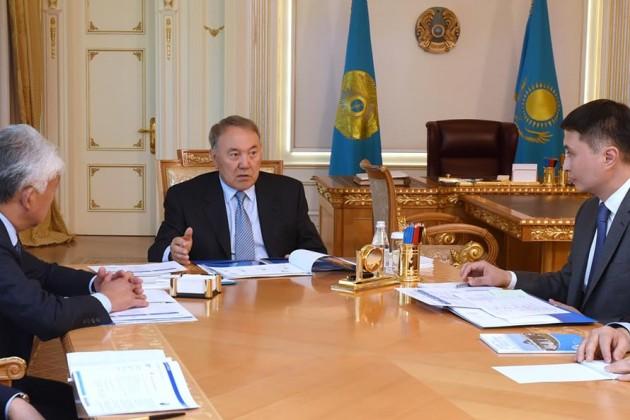 Нурсултан Назарбаев встретился с руководством Фонда Первого Президента