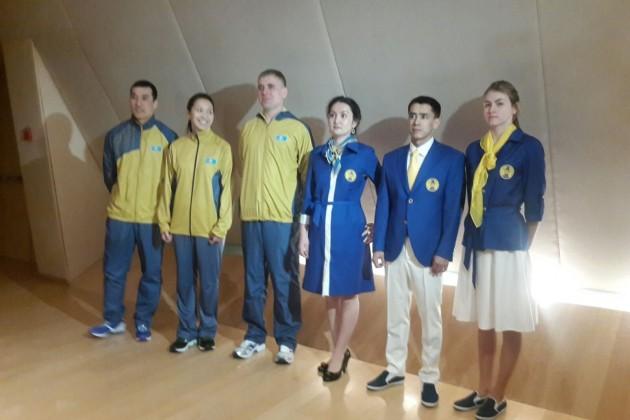 Представлена форма олимпийской сборной РК