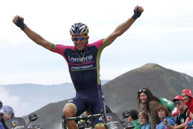 Поляк Пшемыслав Немец из Lampre-Merida выиграл 15-й этап «Вуэльты»