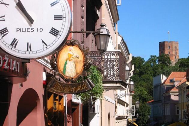 Вильнюс назвали самым дешевым для туристов городом