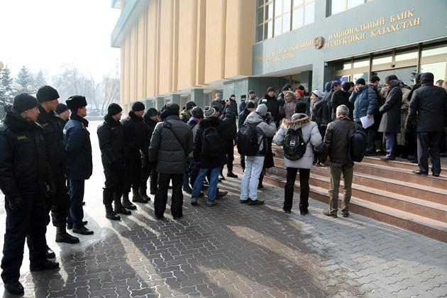 Народ требует отставки Келимбетова