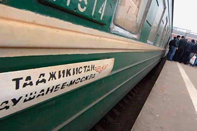 На таджикский поезд совершено нападение