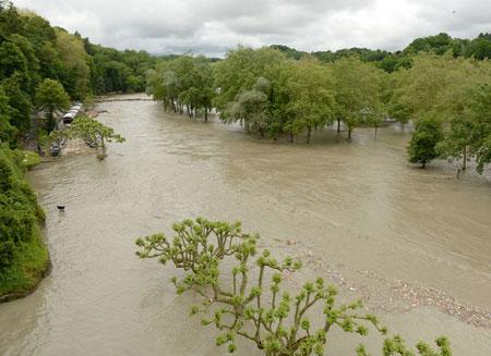 Канада борется с наводнением