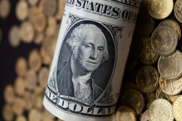Тенге немного подвинул доллар на бирже