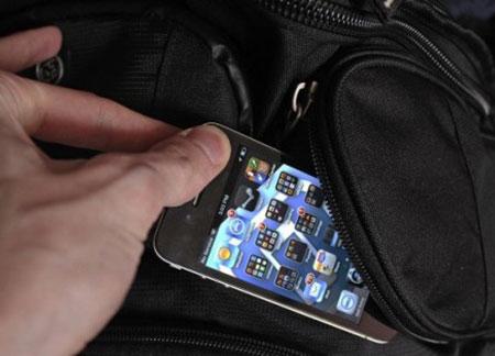 Похитителей смартфонов можно будет заснять на камеру