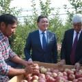 Аскар Мамин ознакомился с реализацией госпрограмм в Алматинской области