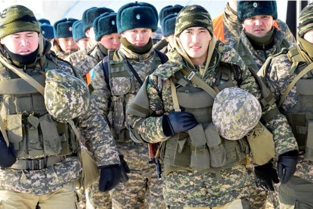 Войска на юге Казахстана подняты по тревоге