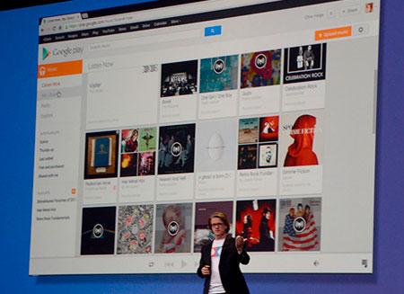 Презентован новый музыкальный сервис Google