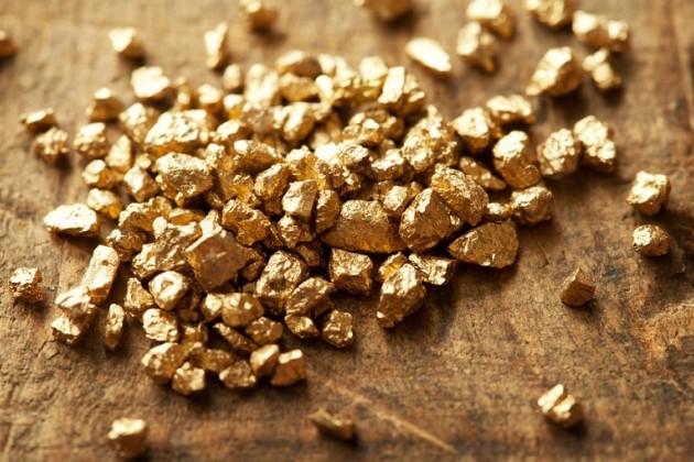 Производство необработанного золота выросло на 13% за год