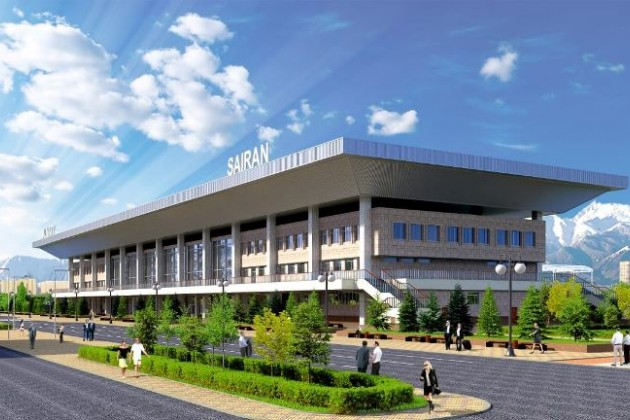 Как будет выглядеть автовокзал Сайран?