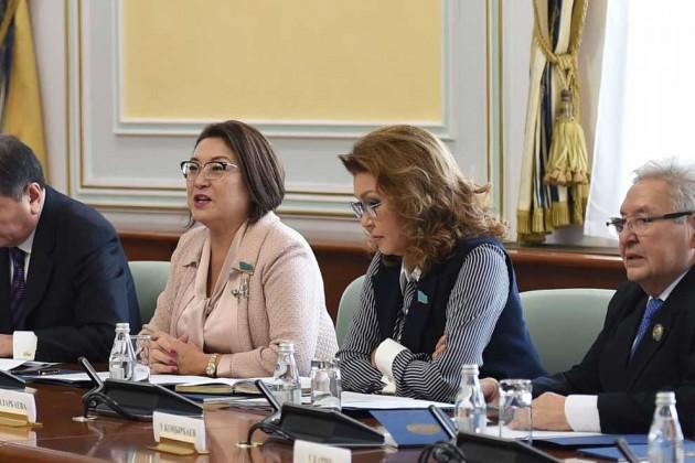 Дарига Назарбаева возглавила Общественный совет МИДРК