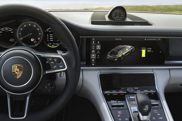 Porsche Panamera оснастят технологией блокчейн