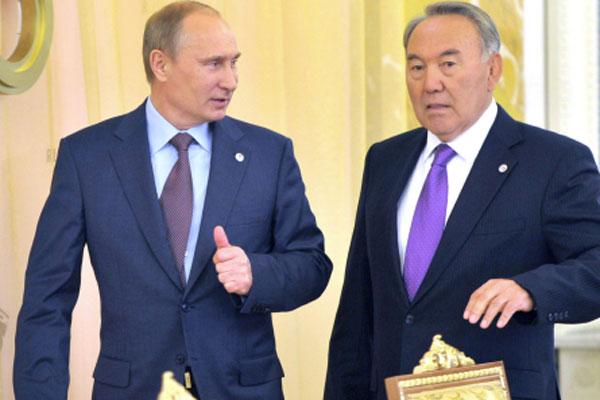 Президенты Казахстана иРоссии встретятся 12августа