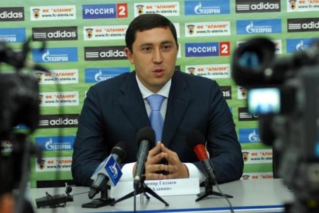 Владимир Газзаев возглавил ФК «Актобе»