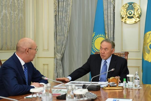 Кайрат Келимбетов рассказал президенту оготовности МФЦА кзапуску
