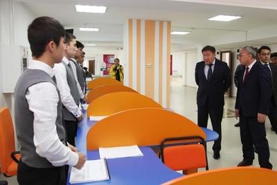 ВТаразе обновили центр занятости населения