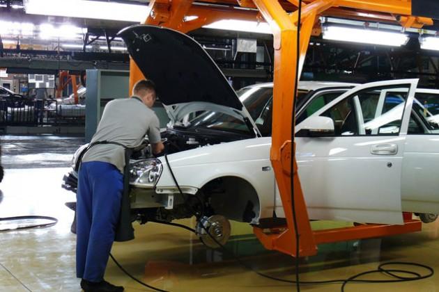 В Казахстане будут собирать Lada Priora