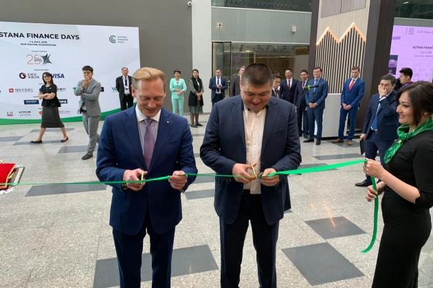 Сбербанк Казахстан открыл цифровой офис на территории МФЦА