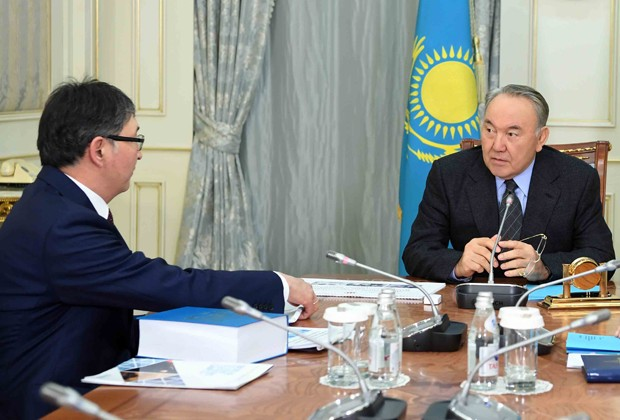 Ерлан Сагадиев доложил президенту опроводимых реформах